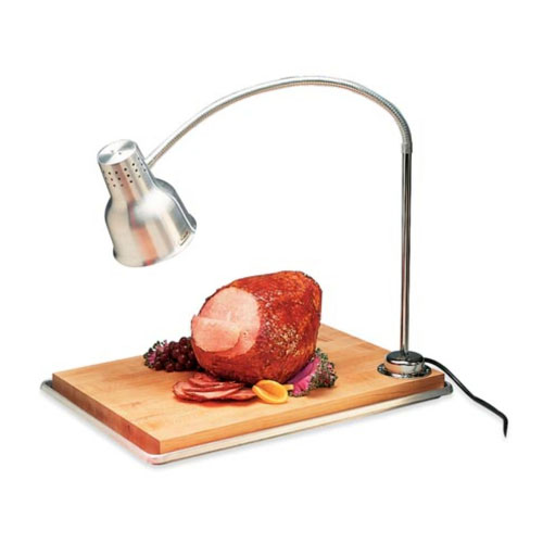 Heat Lamp and Carving Board