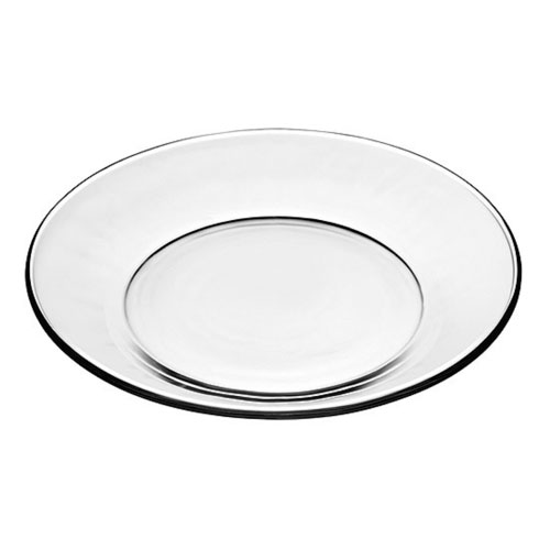 Glass Salad Plate 8