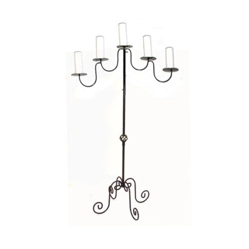Candelabra Black 5 Branch