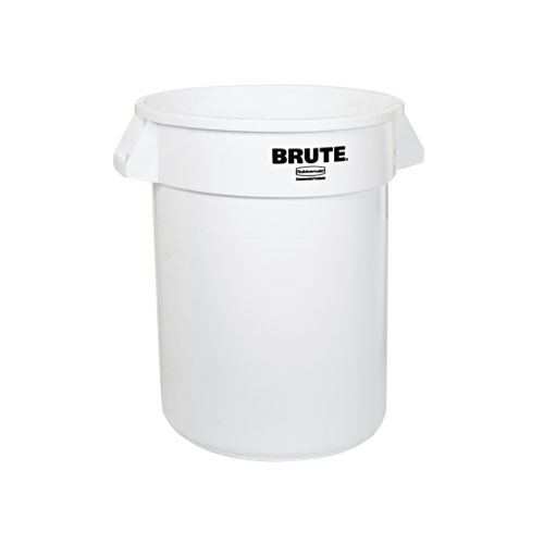 Trash Can Brute 33 Gal White