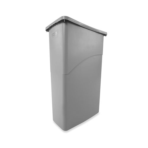 Trash Can Slim Jim 23 Gallon Gray