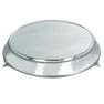 Silver Cake Stand Modern 18 inch Round