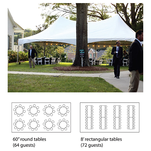 20'x40' Marquee Tent