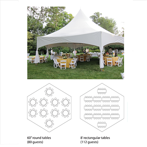 40' Hex Marquee Tent