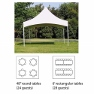 15'x15' Marquee Tent