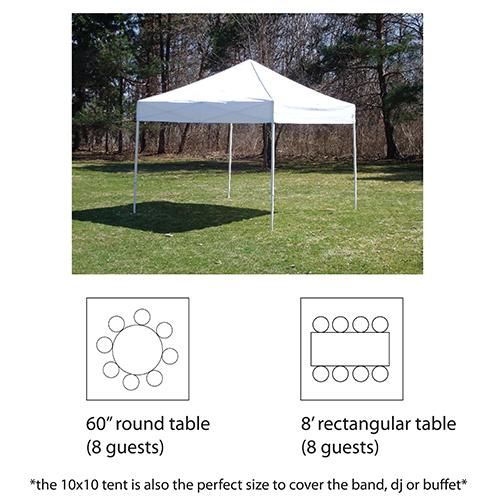 10'x10' Pop-up Tent