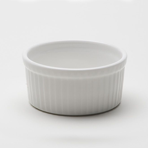 Ramekin, White Ceramic 4oz