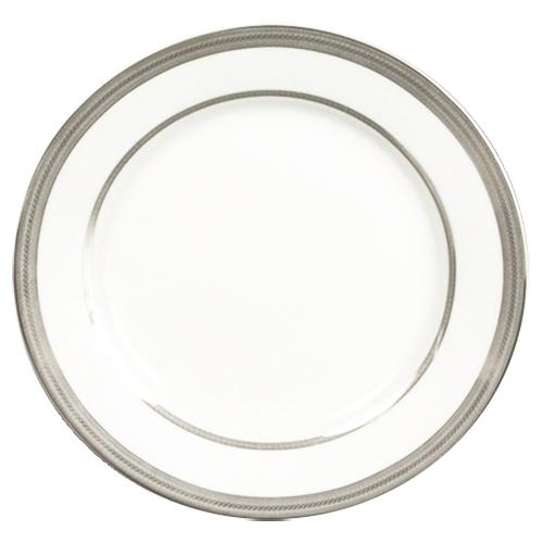 Platinum Rimmed Dinner Plate 10.75