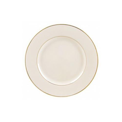 Gold Rimmed Ivory Salad/Dessert Plate