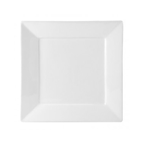 White Square Salad/Dessert Plate