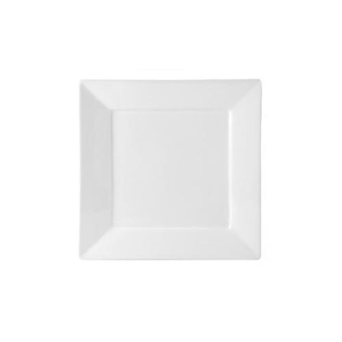White Square B&B Plate