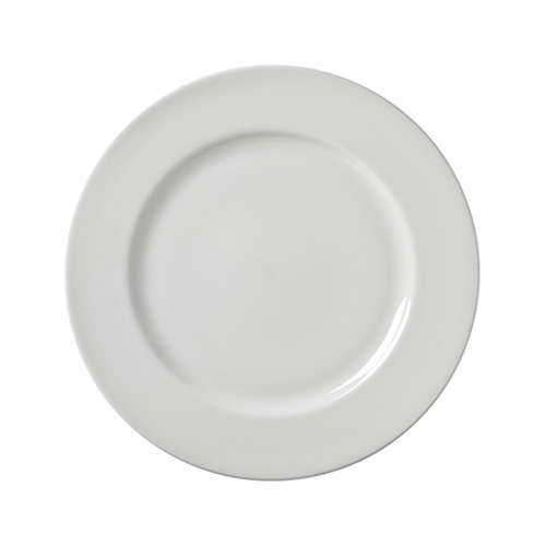 White Classic Luncheon Plate