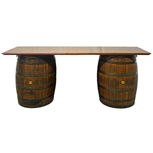 Wine Barrel Table 86 inches