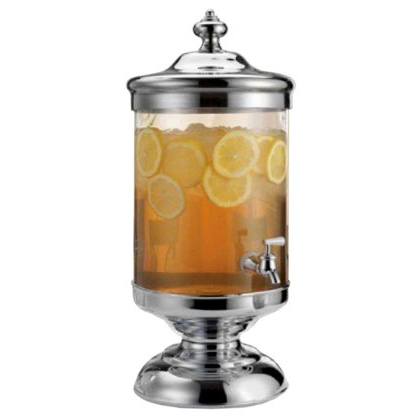 Glass Beverage Dispenser 2.5 Gallon