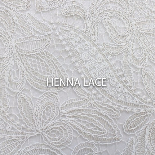 Henna Lace Linen