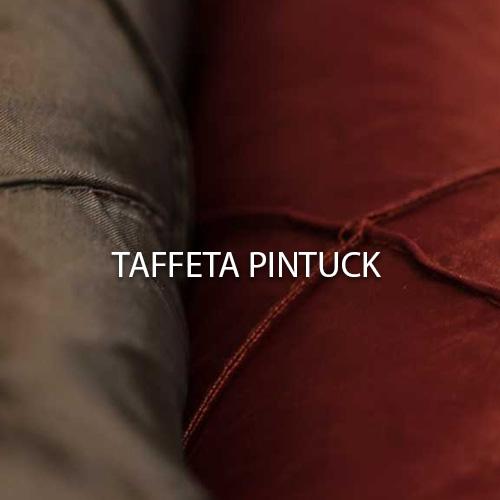 Taffeta Pintuck Linen