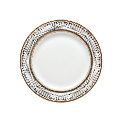Gabrielle Gold Salad/Dessert Plate