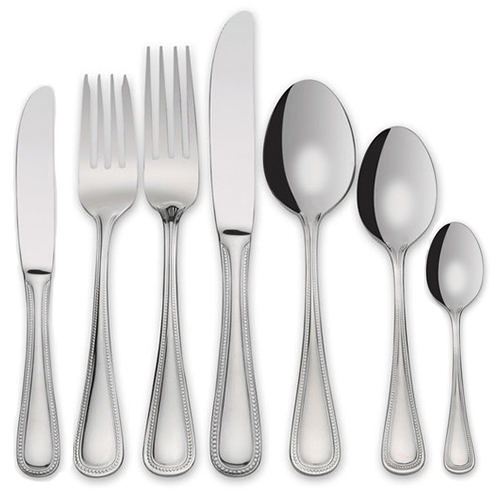 Beads Flatware, Silver Plated