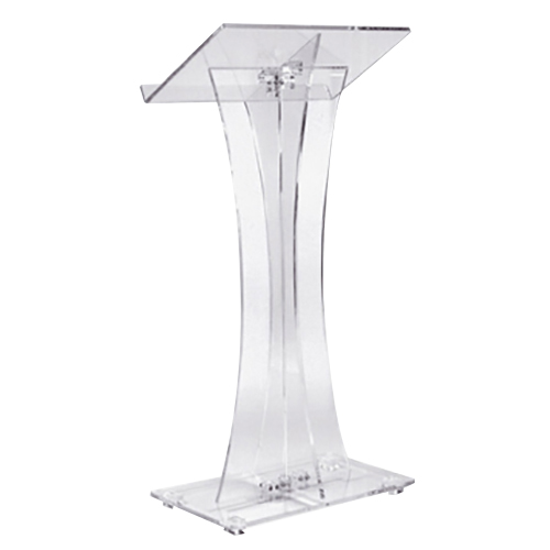 Clear Acrylic Podium