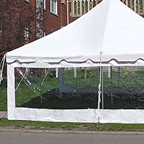 Tent Sidewall 20' Clear